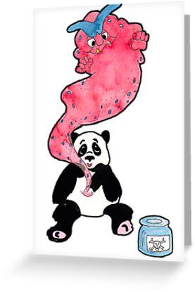 Panda Poison by nancykells