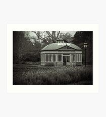 Ballarat Gardens Art Print