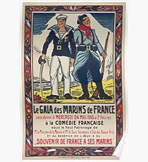 Le gala des marins de France á la Comédie Française Poster