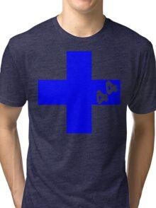 Sum 44 - Blue Tri-blend T-Shirt