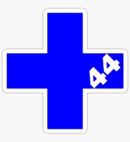 Sum 44 - Blue Sticker