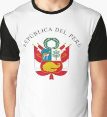Great Seal of Peru Graphic T-Shirt