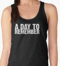 A Day To Remember - White Women's Tank Top