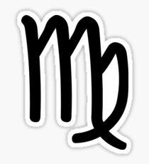 Virgo - The Virgin - Astrology Sign Sticker