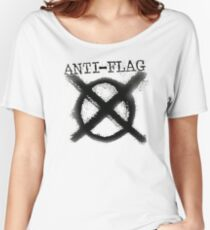Anti-Flag Women's Relaxed Fit T-Shirt