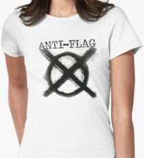 Anti-Flag Women's Fitted T-Shirt