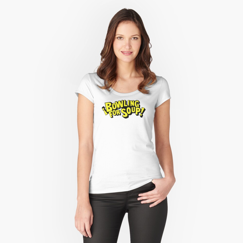 Bowling For Soup Women's Fitted Scoop T-Shirt Front