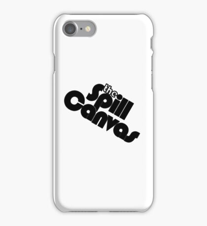The Spill Canvas iPhone Case/Skin