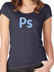 Adobe Photoshop Women's Fitted Scoop T-Shirt