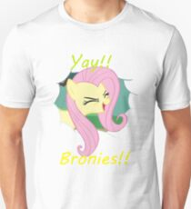 Yay!! Fluttershy Unisex T-Shirt