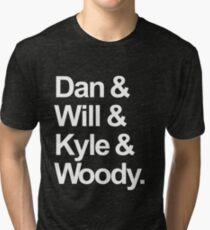 Camiseta de tejido mixto Nombres de Bastille