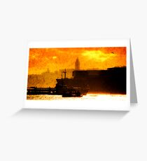 Bosphorus Greeting Card