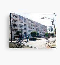 Apartments.  Canvas Print