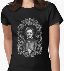 Edgar Allan Poe Shirt Women's Fitted T-Shirt