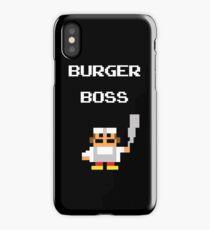 burger boss arcade iPhone Case