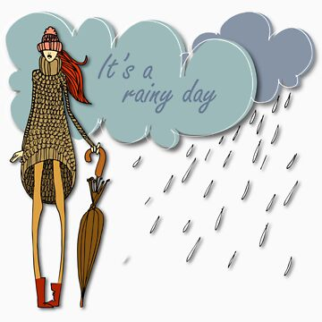 It's a rainy day by csecsi