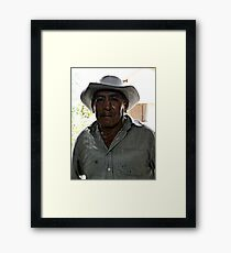 Anthony Quinn Lookalike Framed Print