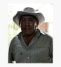 Anthony Quinn Lookalike Photographic Print