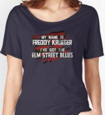 Elm Street Blues (Reuben) Women's Relaxed Fit T-Shirt