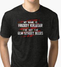 Elm Street Blues (Reuben) Tri-blend T-Shirt