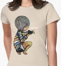 Smile Daisy Photographer Womens Fitted T-Shirt
