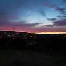 Sunset from Keighley Moor by Michael Upshon