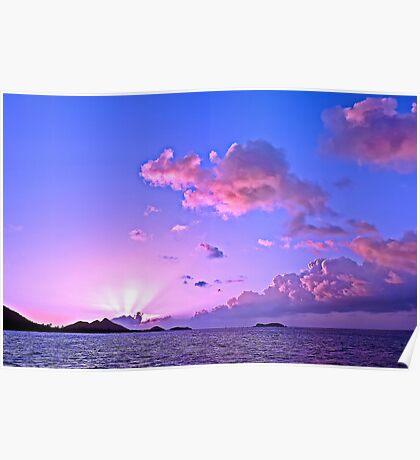 Sundowner Sunset Poster