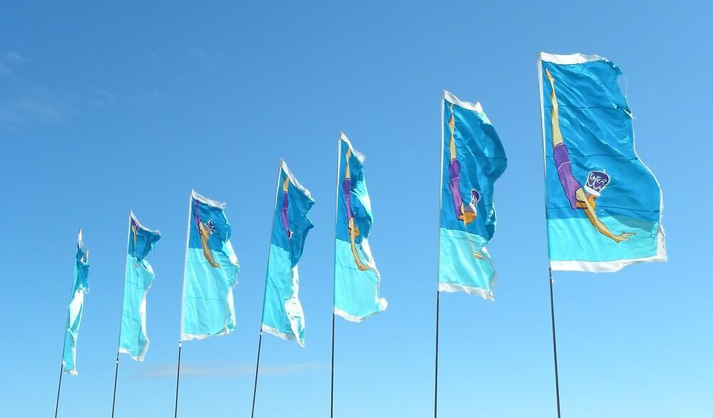 Jubilee Flags by Sarah Jane Bingham