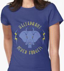 Hellephant - Impale Blue on Blue T-Shirt