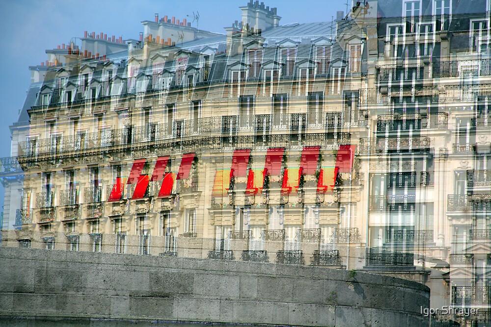 Parisian Mosaic - Piece 29 - French Building Facade  by Igor Shrayer