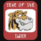 Funny Year of The Tiger T-Shirt by HolidayT-Shirts
