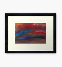 Abstract - Guash - Savana Framed Print