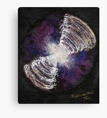COSMIC ELECTRIC connection   Canvas Print