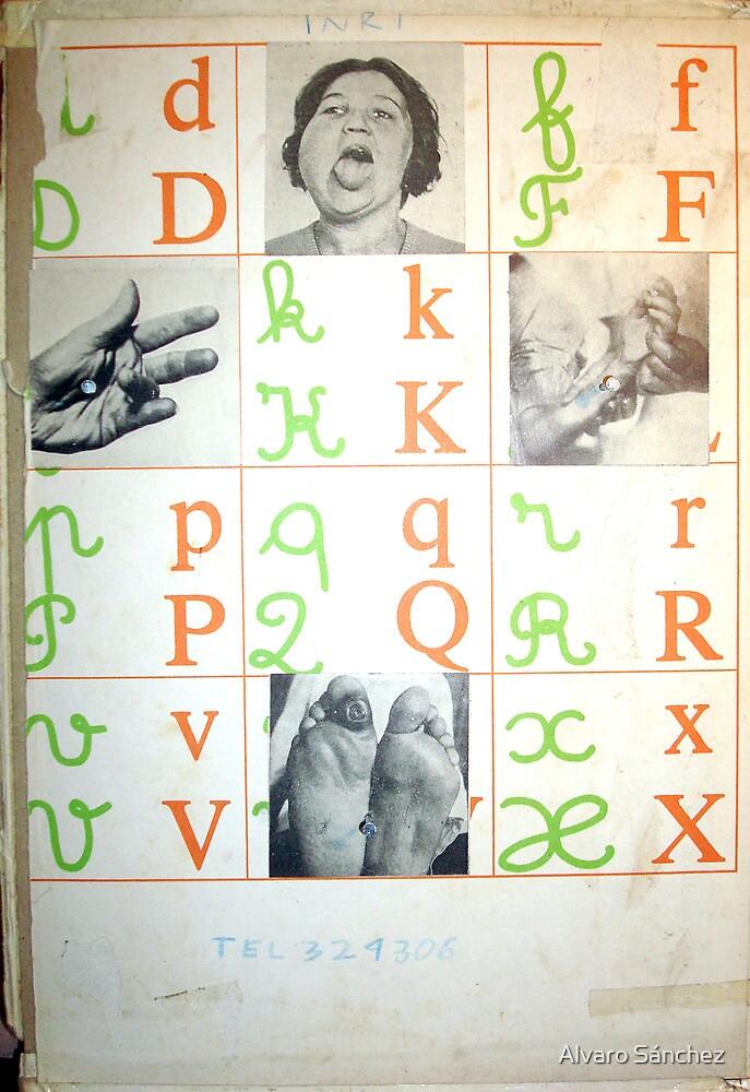 ALFABETO PARA PECADORES (alphabet for sinners) by Alvaro Sánchez