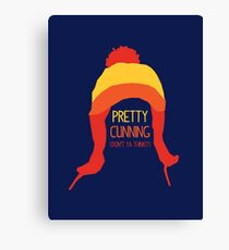 Pretty cunning Canvas Print