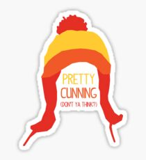 Pretty cunning Sticker