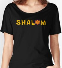Shalom T-Shirt Women's Relaxed Fit T-Shirt