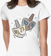 Dreidel Dreidel T-Shirt Womens Fitted T-Shirt