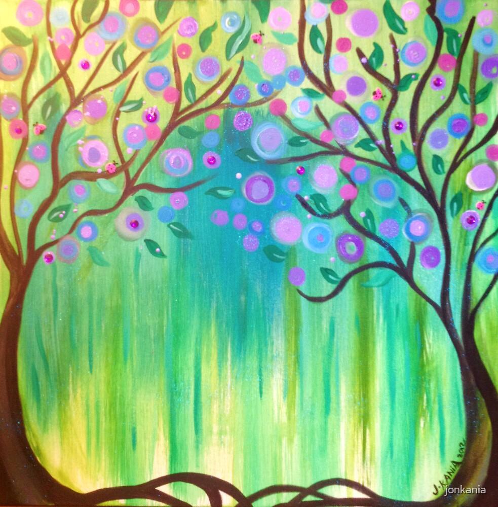 2 Magick Trees by jonkania