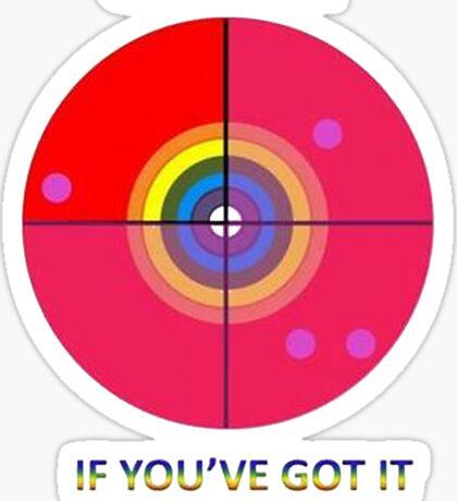 Gaydar: If You've Got It Flaunt It Sticker