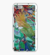Swimming with Butterflies iPhone Case/Skin