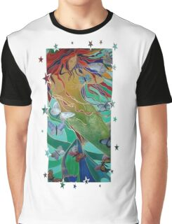 Swimming with Butterflies Graphic T-Shirt