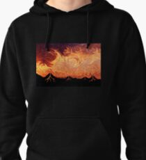 How Volcanoes are Made with Sky Lava Pullover Hoodie
