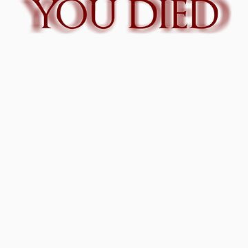You Died by Bagu