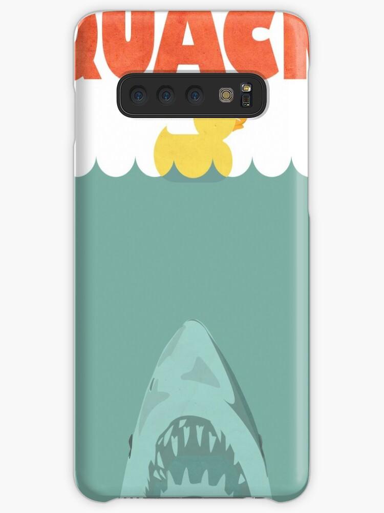 JAWS RUBBER DUCK QUACK iphone case