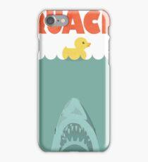 Jaws Rubber Duck 'Quack'  iPhone Case/Skin