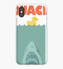 Jaws Rubber Duck 'Quack'  iPhone Case