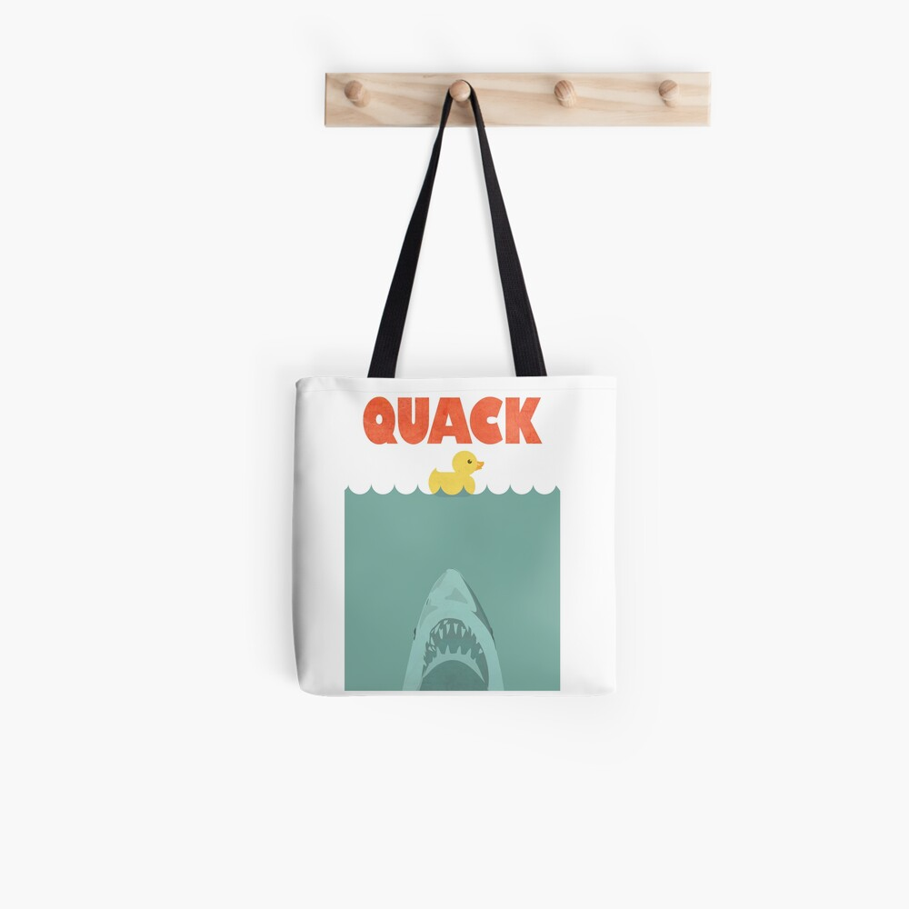 Jaws Gummiente 'Quack' Stofftasche