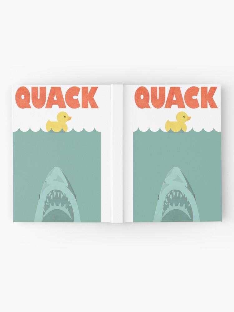 Alternative Ansicht von Jaws Gummiente 'Quack' Notizbuch