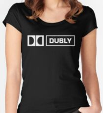 "This is Spinal Tap Dolby ""Dubly""  Women's Fitted Scoop T-Shirt"